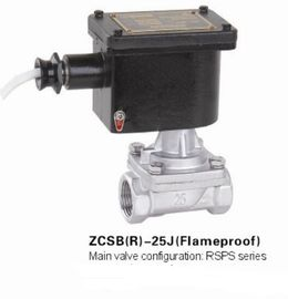 Stainless Steel Flameproof Explosion Proof Solenoid Valve With Steam Medium