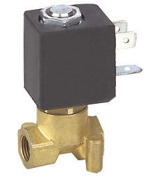 Brass Electric Coffee Machine Solenoid Valve Direct Acting 2MM Low Pressure