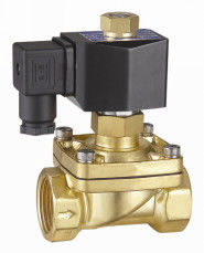 2 Inch Semi Direct Acting Brass Water Solenoid Valve Normally Open 24VDC