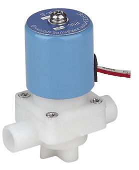 Mini RO Auto Shut Off Valve , Plastic Water Solenoid Valve Direct Acting