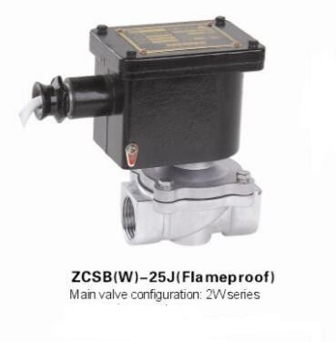 Stainless Steel Explosion Proof Solenoid Valve , Direct Acting Solenoid Valve Flameproof