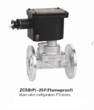 Flange Pilot Piston Explosion Proof Solenoid Valve Stainless Steel